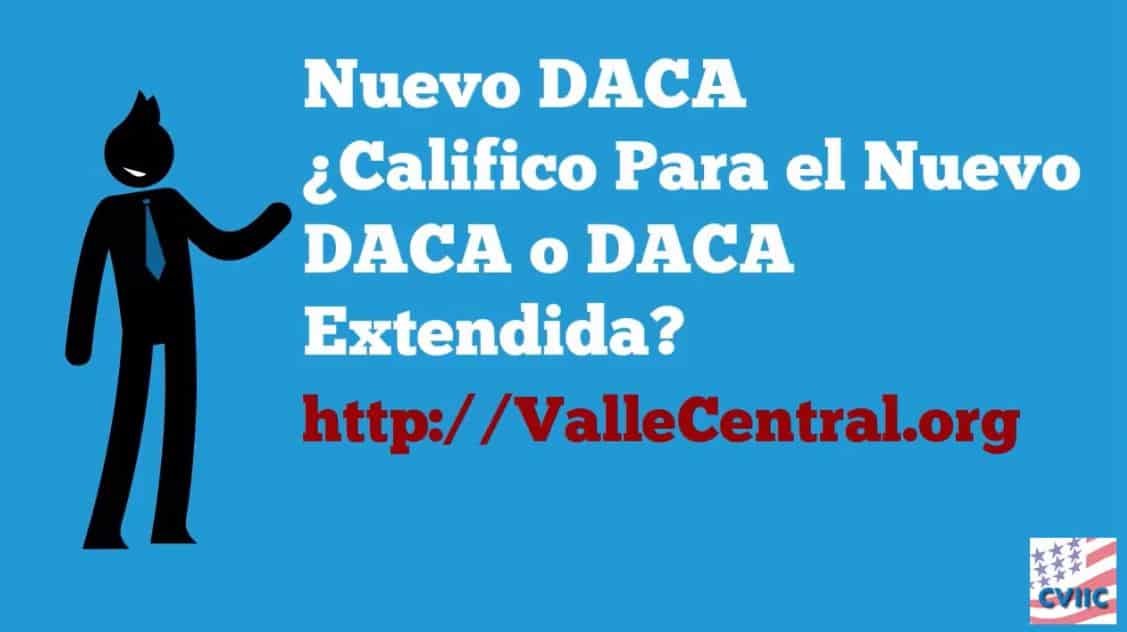 Califico para el Nuevo DACA o DACA Extendida