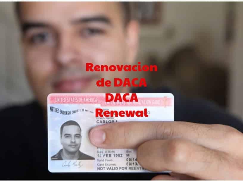 Renovacion de DACA | DACA Renewal