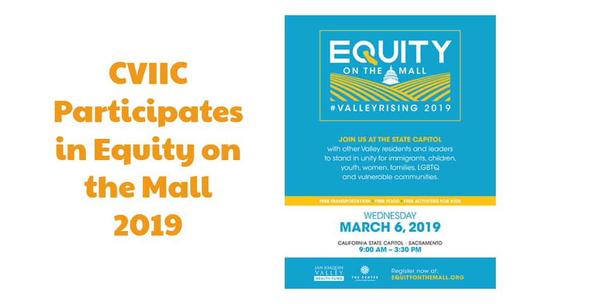 CVIIC Participates in Equity on the Mall 2019